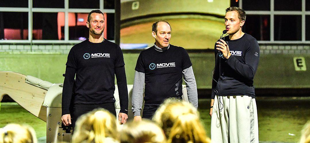 MOVIE-Session in Langenfeld mit 100 Teilnehmern